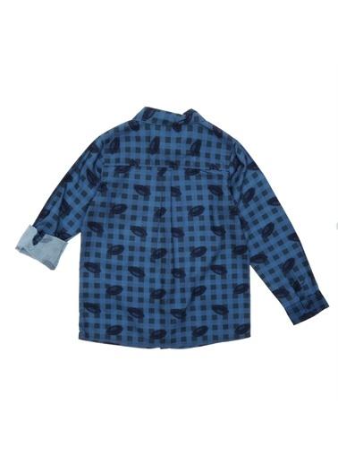 Panço Erkek Çocuk Gömlek 18212001100 Lacivert